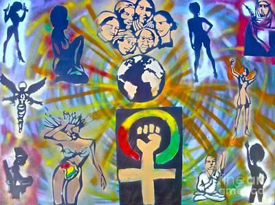Feminism 101 Poster by Tony B Conscious