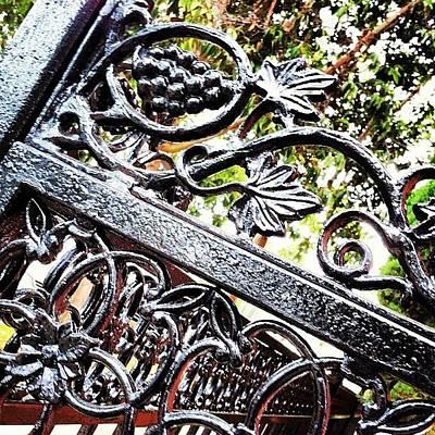 #fence #gate #decorative #ornamental Poster
