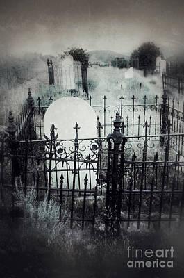 Fences In Graves Poster by Jill Battaglia