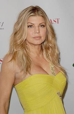 Fergie At Arrivals For 2011 Annual Fifi Poster by Everett