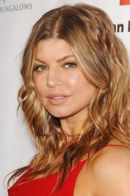Fergie At Arrivals For American Red Poster by Everett