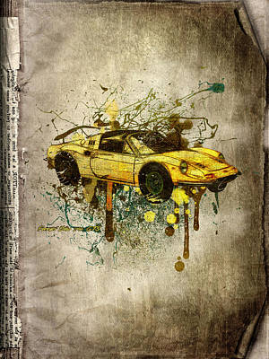 Ferrari Dino 246 Gts Poster