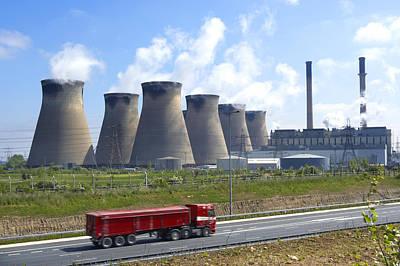 Ferrybridge Power Station Poster