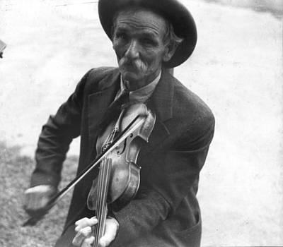 Fiddlin Bill Henseley, Mountain Poster by Everett