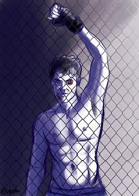 Fight Club Poster by Daniele Uboldi