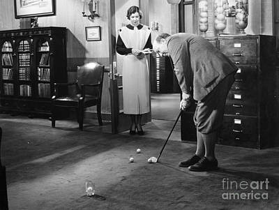 Film Still: Babbitt, 1934 Poster