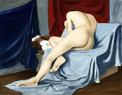 Fine Art Female Nude 2001 Poster