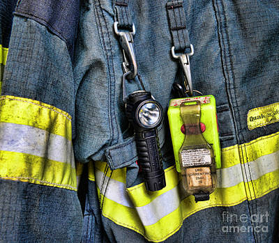 Fireman - The Fireman's Coat Poster by Paul Ward