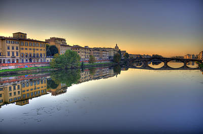 Firenze Hdr Poster by Dionysios Kostagiolas