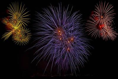 Fireworks Poster by Joana Kruse