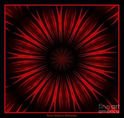Fireworks Kaleidoscope 10 Poster