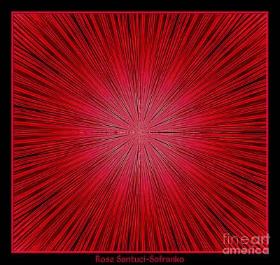Fireworks Kaleidoscope 14 Poster