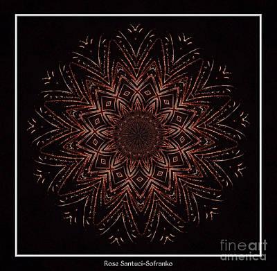 Fireworks Kaleidoscope 3 Poster