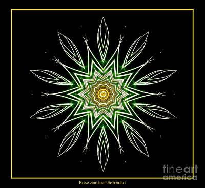 Fireworks Kaleidoscope 6 Poster