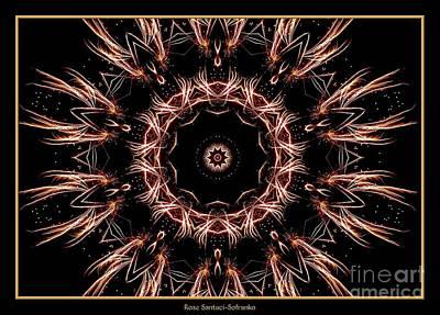 Fireworks Kaleidoscope 7 Poster