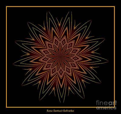 Fireworks Kaleidoscope 9 Poster