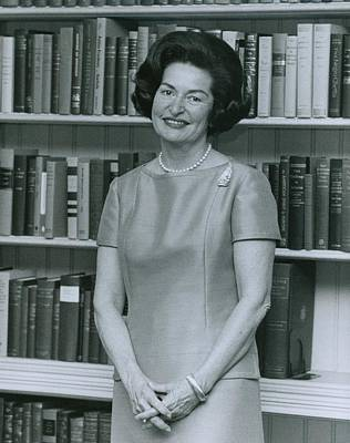 First Lady, Lady Bird Johnson, In 1964 Poster by Everett