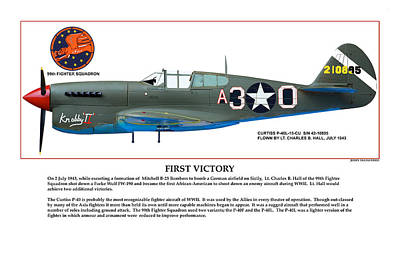 First Victory Poster by Jerry Taliaferro