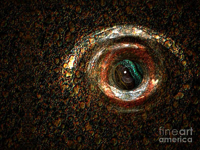 Fish Eye Poster by Jan Willem Van Swigchem