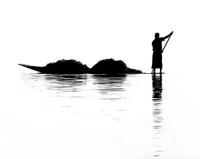 Fisherman Poster by Kate McKenna