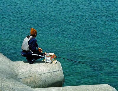 Fisherman - Okinawa Poster