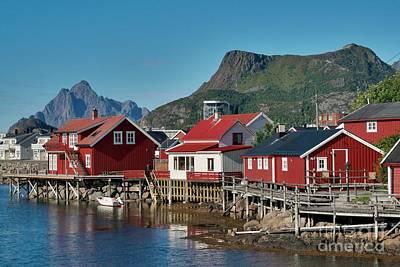 Fishermen's Houses Poster