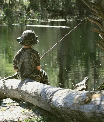 Fishin' And Wishin' Poster