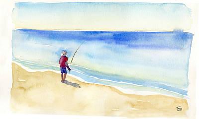 Fishing Alone Poster