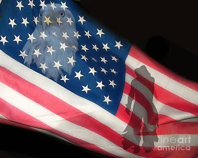 Flag IIi Poster by Billie-Jo Miller