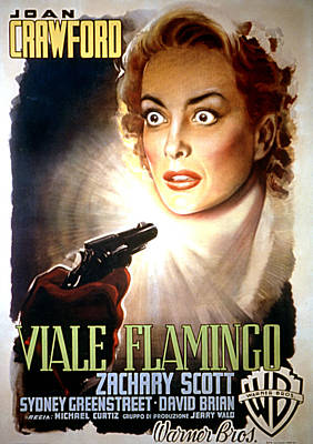 Flamingo Road, Joan Crawford, 1949 Poster by Everett
