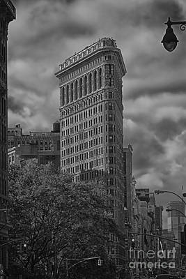 Poster featuring the photograph Flatiron by Vicki DeVico