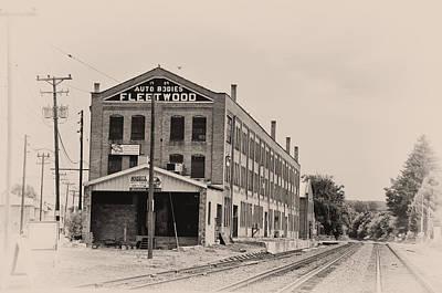 Fleetwood Autobody Factory Poster