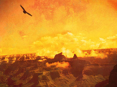 Flight Over Grand Canyon Poster by James Bethanis