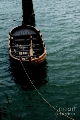 Floating Boat Poster by Hideaki Sakurai