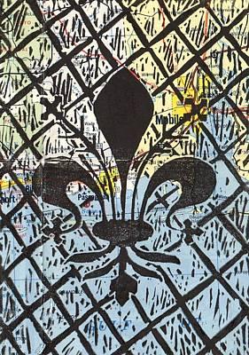 Florentine Fleur Gulfport Mobile Poster by Julia Forsyth