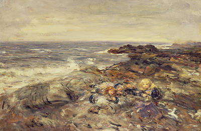Flotsam And Jetsam Poster by William McTaggart