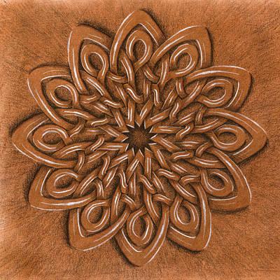 Flower Mandala Poster by Hakon Soreide