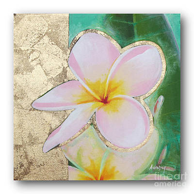 flower painting FL062 Poster by Flower Paintings
