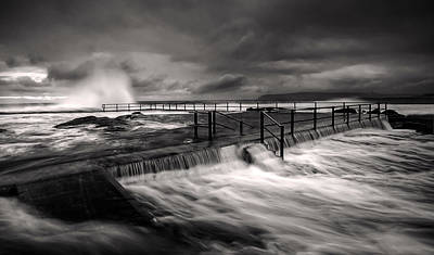 Flowing Mood Poster by Mark Lucey