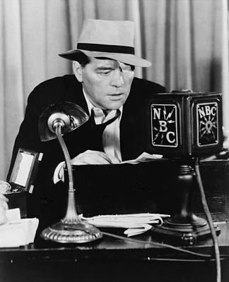 Floyd Gibbons 1887-1939, Broadcasting Poster
