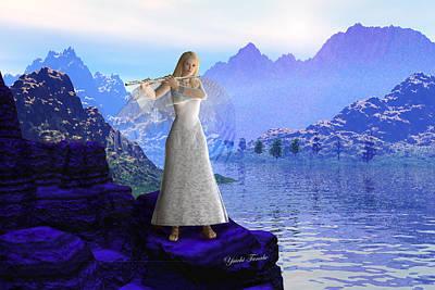 Flute Angel 2 Poster