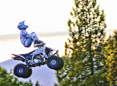 Flyin 6 On The Quad Poster