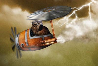 Flying Degoe Poster