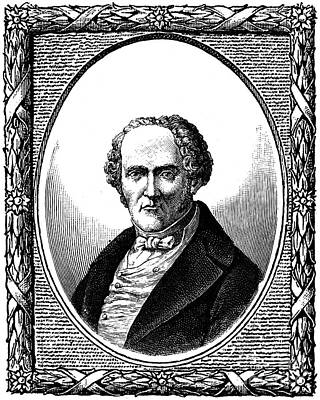 F.m.c. Fourier (1772-1837) Poster