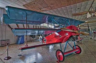 Fokker Dr 1 Poster by Miguel Diaz