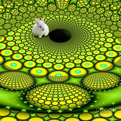 Follow The White Rabbit Poster