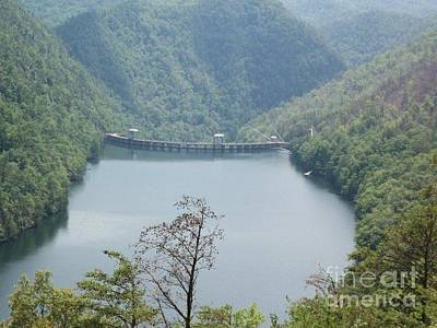 Poster featuring the photograph Fontana Dam by Janice Spivey