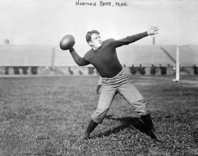 Football, Norman Barr, University Poster by Everett