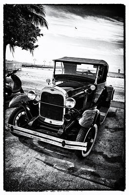 Ford Model T Film Noir Poster by Bill Cannon