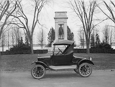 Ford Model T, Roadster With A Single Poster by Everett